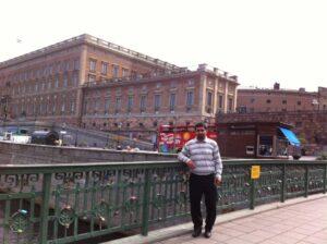 کاخ پادشاهی سوئد در استکهلم